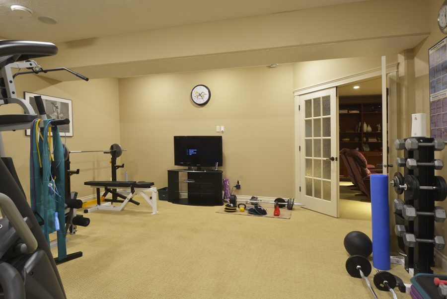 501 Manor Pointe Court Workout Room
