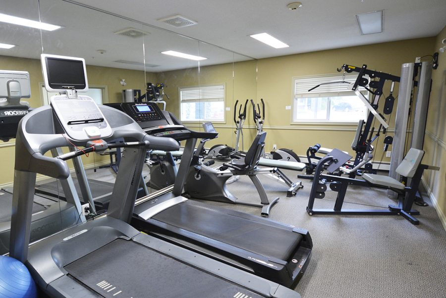 111 9910 107 Street Building Fitness Room