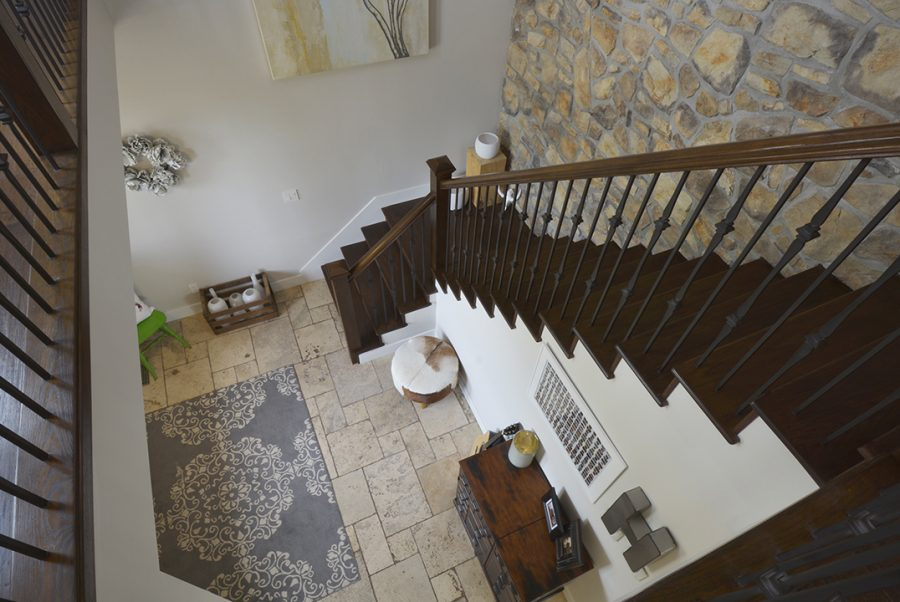 284 Estate Way Crescent Staircase2